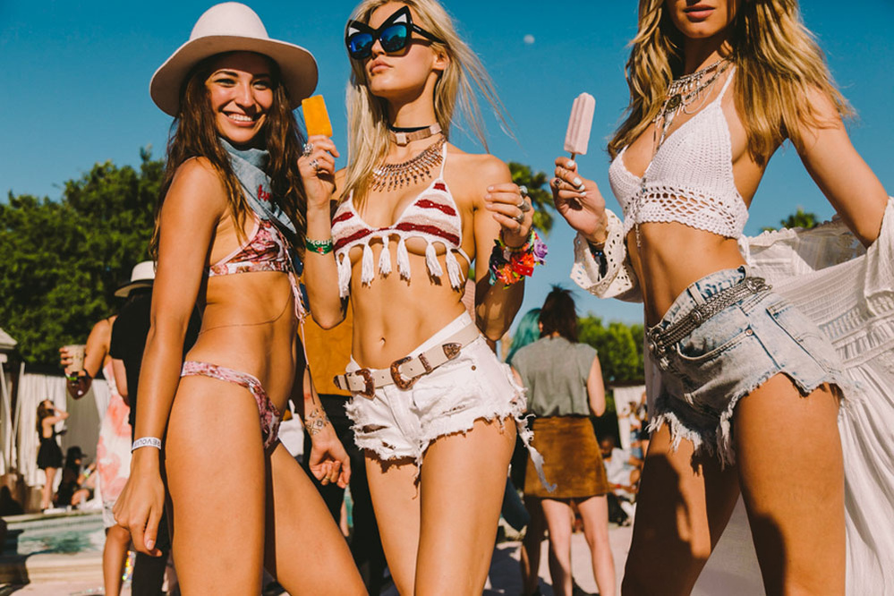 Meet you at Revolve Desert House at Coachella Festival